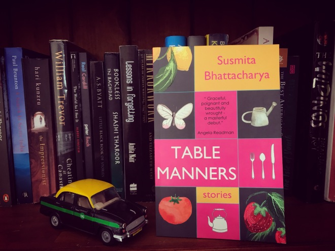 Table Manners cover bookshelf